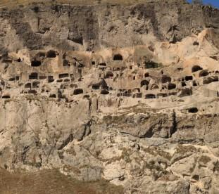 Wardzia - skalne miasto