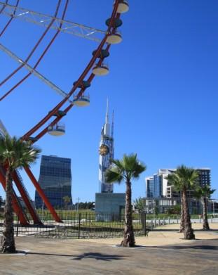 Batumi - nadmorska promenada