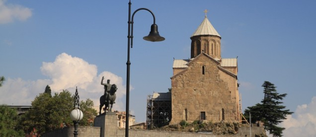 Tbilisi - kościół Metechi