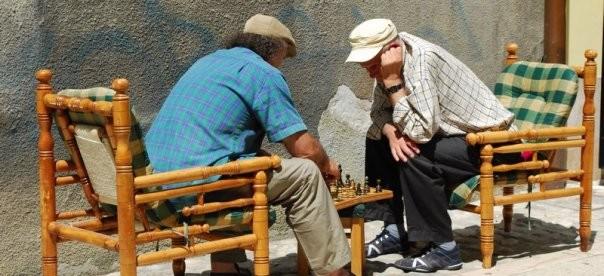 szachy na Baščaršiji, Sarajewo/ zdj. Dorota Borodaj.