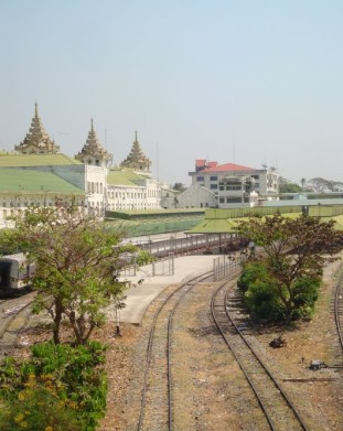 dworzec w Yangon