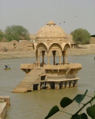 jezioro w Jaisalmerze
