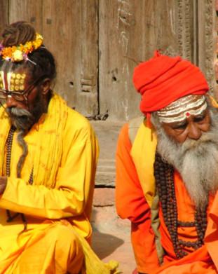 Sadhu - święci mężowie z Durbar Squer