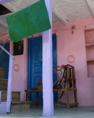 wioska Naggar koło Manali, Stan Himachal Pradesh