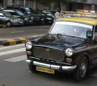 taksówki z Bombaju