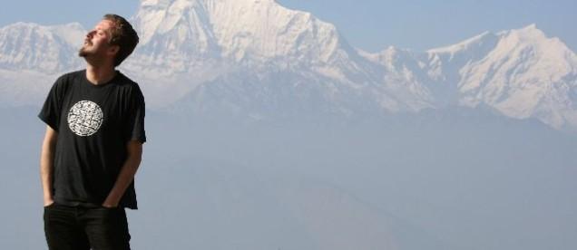 widok na Dhaulagiri 8167 m n.p.m  z Poon Hill - 3200 m.n..p.m.