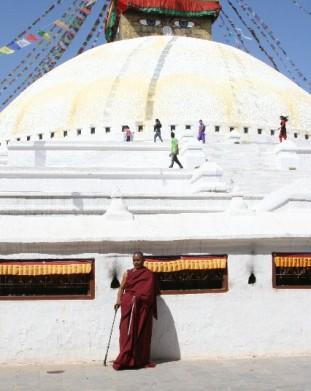 Wielka stupa w Bodhnat