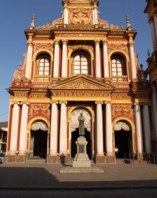 Argentyna - Salta - kościół Franciszkanów