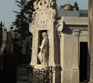 Buenos Aires - zabytkowy cmentarz Recoleta