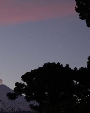 Pucon - wulkan Villarrica