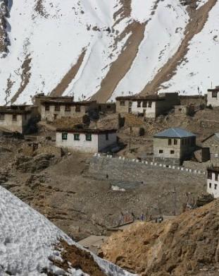 Kibber, Spiti,  Stan Himachal Pradesh