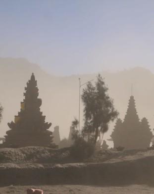 świątynie hinduistyczne pod Bromo