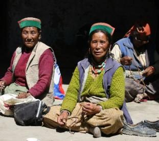 Chango, Kinnaur, Dolina Pin, Spiti,  Stan Himachal Pradesh