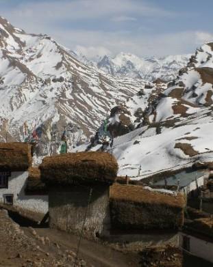 Demul, Spiti, Dolina Pin, Spiti,  Stan Himachal Pradesh