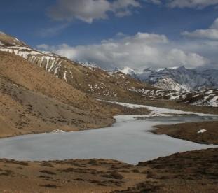 Dhankar, Spiti, Dolina Pin, Spiti,  Stan Himachal Pradesh