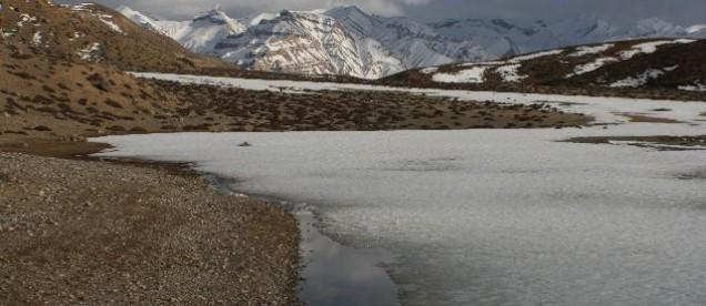 Jezioro Dhankar , Dolina Pin, Spiti