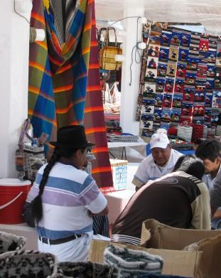 indiański targ w Otavalo