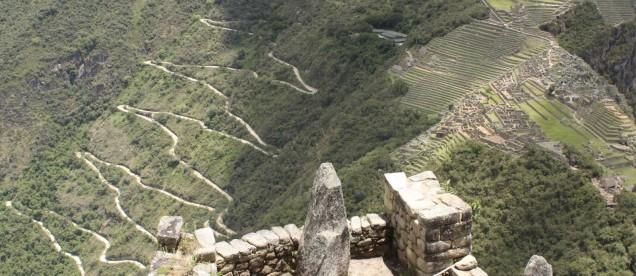 Machu Picchu - widok z Huayna Picchu