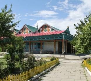 ujgurski meczet w Karakol