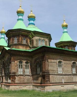 cerkiew w Karakol