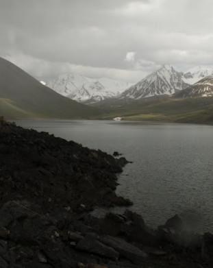 okolice Kochkoru - Jezioro Kol Ukok