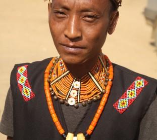 Nagaland. Potrety wodzów (An).
