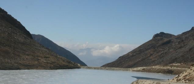 Sela - 4176 m.   W drodze do Tawangu