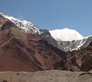 Sela - 4176 m.   W drodze do Tawangu. Widok z przełęczy