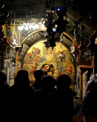 Bazylika Narodzenia Pańskiego w Betlejem.