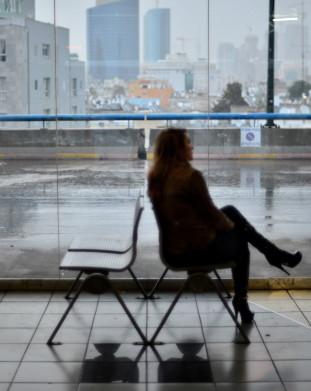 Dworzec autobusowy w Tel Awiwie.