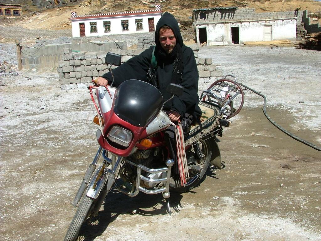 Tomek Tułak podczas jednej ze swoich podróży po Himalajach