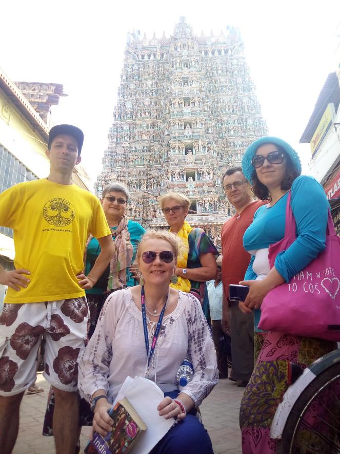 Ekipa trampingu przez Indie południowe - pozdrawiamy z trasy