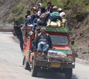Om Tramping w Azji - podróżowanie ciężarówką