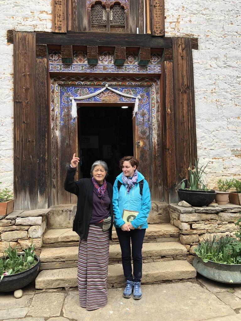 Bhutan Bhutamtang - pisarka Kuzang Choden z Felicją Bilską