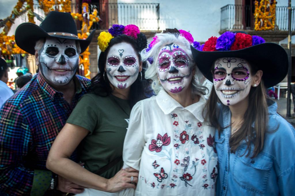Obchody meksykanskiego dnia zmarlych , fot. Om Tramping Klub