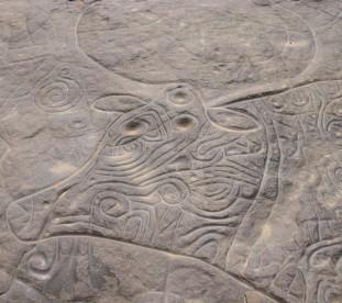 Wpisane na luste UNESCO ryty skalne na Saharze - om tramping klub