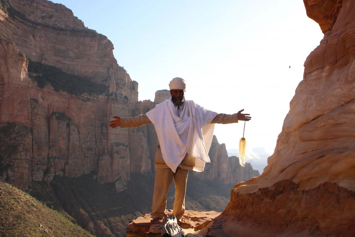 Abuna Yemata Geh w Etiopii - skalne koscioly - om tramping klub