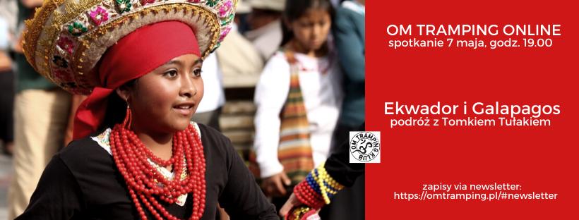 Spotkania online - podroz przez Ekwador i Galapagos