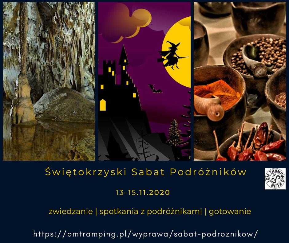 Trzydniowy zjazd podroznikow w Gory Swietokrzyskie